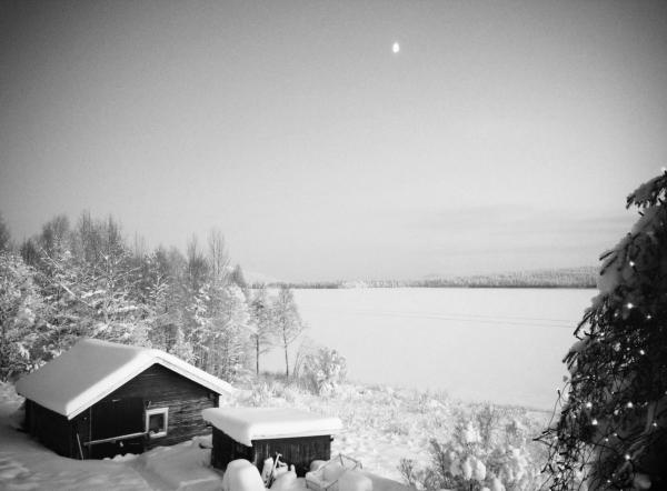 Järvträsk vinter